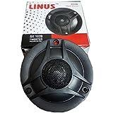 Linus SK-102B Piezo Dome Audio System Tweeter Speakers (Black)