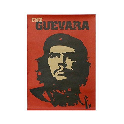 GROOMY Che Guevara Retro Poster Nostalgic Home Dekorative Malerei Vintage Wandaufkleber