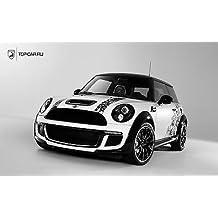 Pegatina Adhesivo Auto coche Mini Cooper A263, 80x45cm