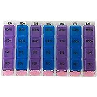 Keep Confort 28 Quadrate Portable Plastikpillenschachteln, wöchentlicher Pille-Organisator für 28 Tage, Ergänzungen... preisvergleich bei billige-tabletten.eu