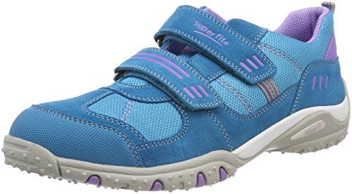 Superfit Mädchen SPORT4 Sneaker, (Türkis), 33 EU