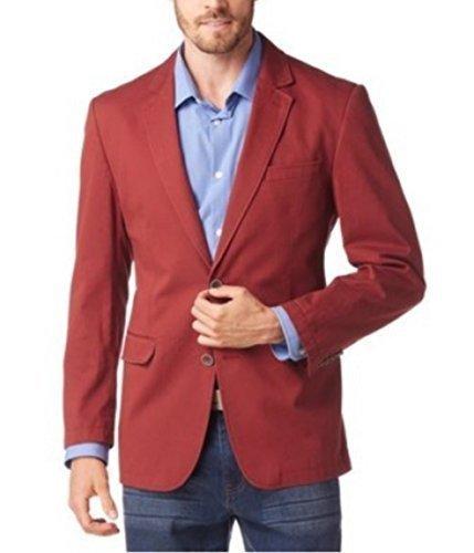 Veste de costume Veste de costume pour hommes de classe Rouge