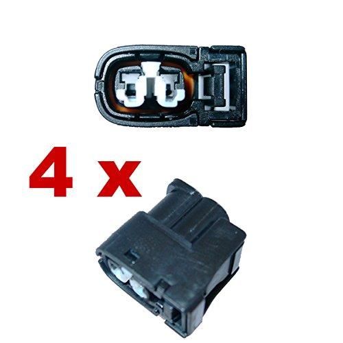 KFZ Ersatz Stecker – Zündspule Benziner – 1JZ 2JZ 1UZ 4AG 3SG RX7 (4 x Female) 7283822630, 7283-8226-30, 90980-11246 (Zündspule Stecker)