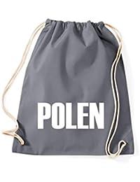 Camiseta stown Turn Bolsa Polonia País Países Fútbol, color gris, ...