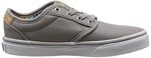 Vans Y Atwood Deluxe, Baskets Basses Mixte Enfant Gris (10Oz Canvas/Frost Gray/Blanket)