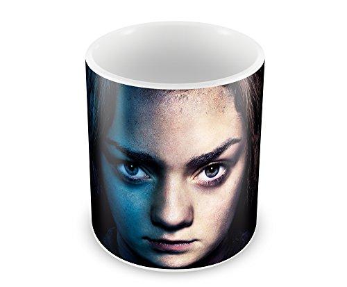 Creative Game Of Thrones - Arya Stark Ceramic Coffee Mug (350 ml, 11 oz, High Quality Glossy Print)  available at amazon for Rs.269
