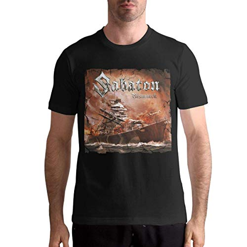 Quitelike Sabaton T Shirts Men's Tops Short Sleeved Round Neck Cotton Tee Tops Männer T-Shirts -