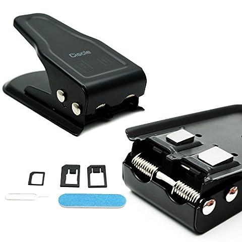 Ciscle coupeur pour la carte SIM/Micro/Nano 2 en 1 coupeur