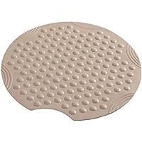 Sicherheitseinlage für die Dusche Modell POPPY mit Blumenmuster Größe 54 x 54cm Duscheinlage Duschmatte