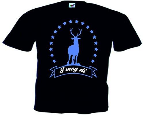 T-Shirt Oktoberfest Wiesn München Junggesellenabschied für Frauen Männer und Kinder in allen Größen XS bis 4XL oder Kinder 104 bis 164 Motiv Nr.61 Herren-Schwarz