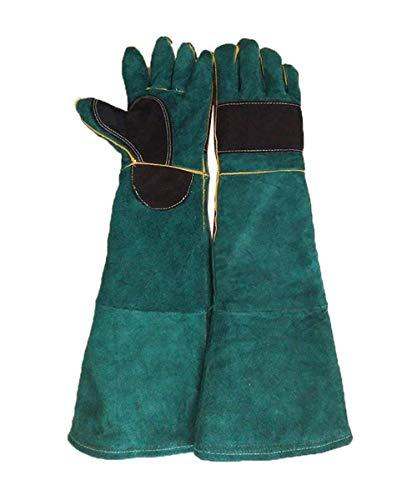 Asjunq anhpi,guanti da lavoro pellicola spessa gestione animale resistenza a graffi per uomini e donne, disponibile in 2 colori, 1 paio,a