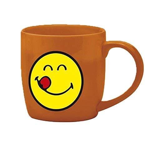 Zak designs 6727-8515 Mug thé Porcelaine Corail 35 cl