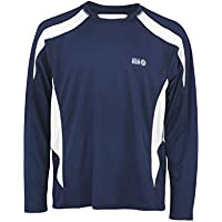 time to run M's LS Wicking Pace Running/Gym/Training T Shirt