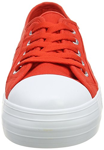 Rocket Dog Magic, Sneaker a Collo Basso Donna Red (Beach Canvas Red)