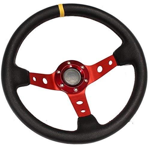 Hardcastle Tief geschüsseltes Lenkrad mit Rot