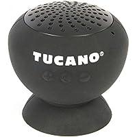 Tucano Fungo BT haut-parleur Bluetooth pour iPhone, smartphone et tablette Noir - noir
