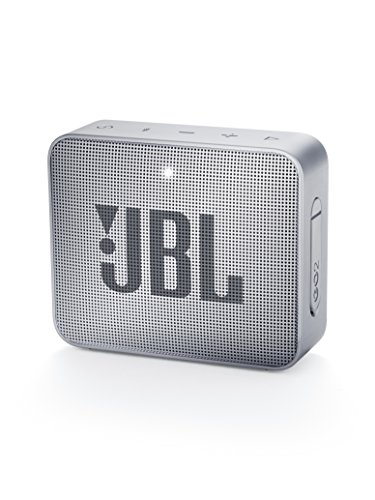 JBL GO2 Tragbarer Bluetooth-Lautsprecher, grau