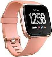 Fitbit Versa Gezondheids- en fitnesssmartwatch met hartslagmeting, batterijduur 4 dagen en waterafstotend tot 50 m diepte