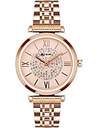 SEVEN Watches for Women Business Quartz Watches Fashion Casual Analogue Quartz Luxury Wrist Watches for Girls Mother Girlfriend Gift(Rose Gold)