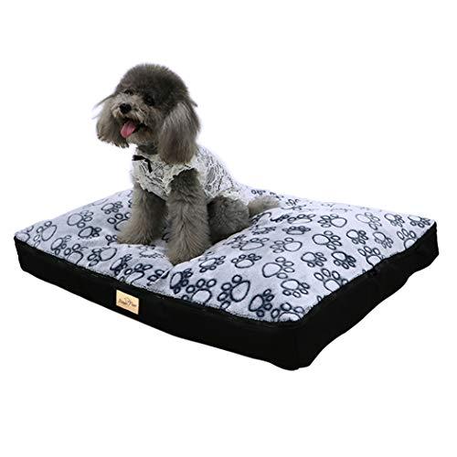 BingoPaw Cama Perro Impermeable Lavable 80 x 60 x
