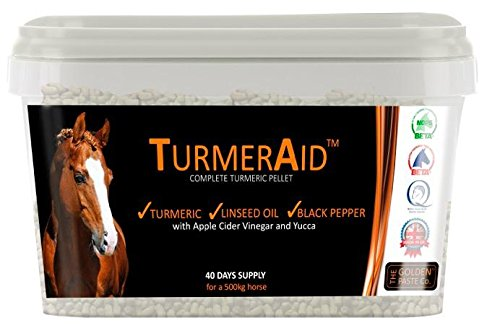 TurmerAid Complete Turmeric Pellet Horse Supplements 2Kg