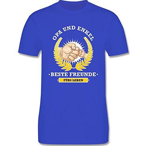 Shirtracer Opa - Opa und Enkel - Beste Freunde fürs Leben - Herren T-Shirt