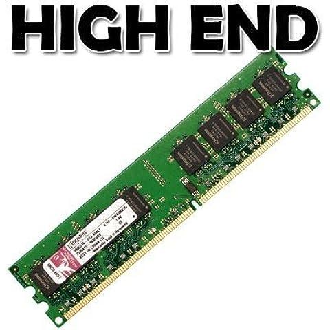Kingston KVR667D2N5/1G Memoria ValueRAM 1024MB, DIMM de 240pines, 667MHz (PC2-5300) 16Chips