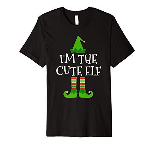 (I 'm The Cute Elf passenden Familien Gruppe Weihnachten T Shirt)