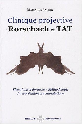 Clinique projective : Rorschach et TAT