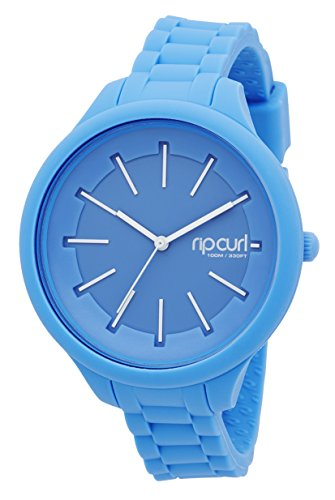 RIP CURL 2016/17 Ladies Horizon Silicone Surf Watch in Acid Blue A2803G