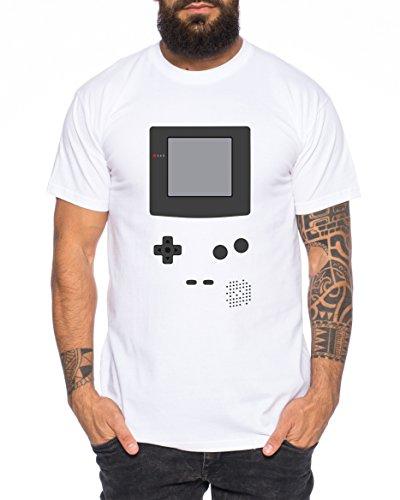 Game Color 16-Bit Nostalgie snes mario super kart 8-bit yoshi boy Herren T-Shirt Weiß