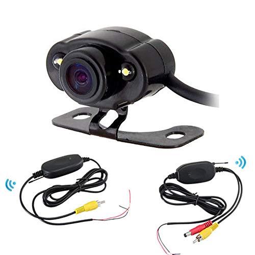 THINKMIC Backup Kamera,Rückfahrkamera, CMOS, 2led, IP68 wasserdicht,Rear View Monitor IP68 Wasserdichte für Auto, Bus, LKW, Schulbus, Anhänger(DC=12V)