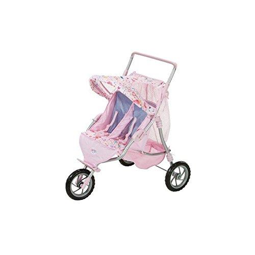 Baby Born - Jogger de gemelos (Bandai 817506)