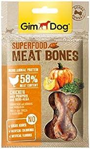 514871 - GimDog Superfood Meat Bones Chicken - Pumpkin and Nori Algae 70 gr