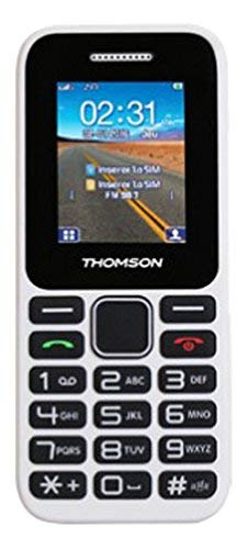 THOMSON T-Link 11 MÓVIL Libre, Pantalla de 1.77' 128x160, 2G, SIM Dual, Bluetooth, batería 600mAh, Blanco