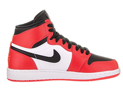 Nike Air Jordan 1 Retro High (GS) Sneaker Kinder Rot (Max Orange/White/Black/Max Orange)