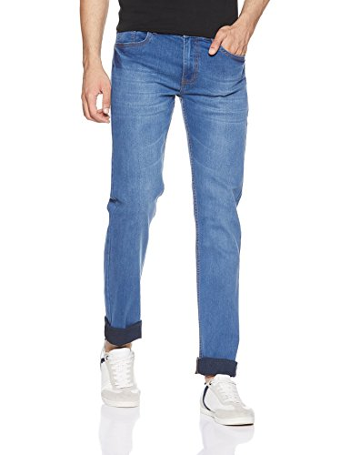 Newport Men's Slim Fit Jeans (275919121_Blue-MS_34)