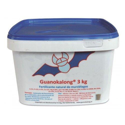 Engrais Granulé Guanokalong / Guano de chauve-souris (3kg)