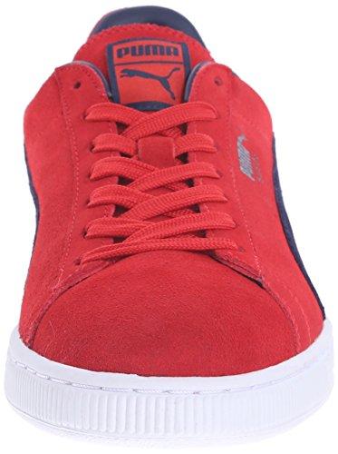 Puma Uomo Puma Classic Wedge L scarpe da ginnastica Flame Scarlet/Peacoat