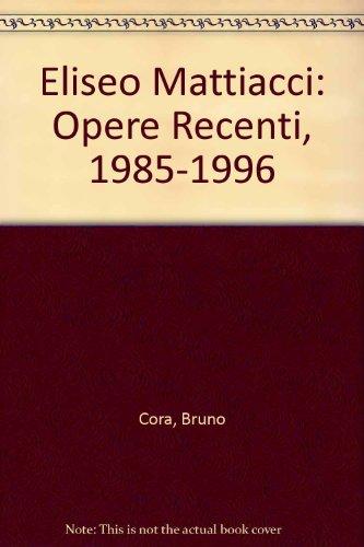 La collezione. Catalogo della mostra (Rivoli, Museo d'arte contemporanea, 1994): Opere Recenti, 1985-1996 por Ida Gianelli