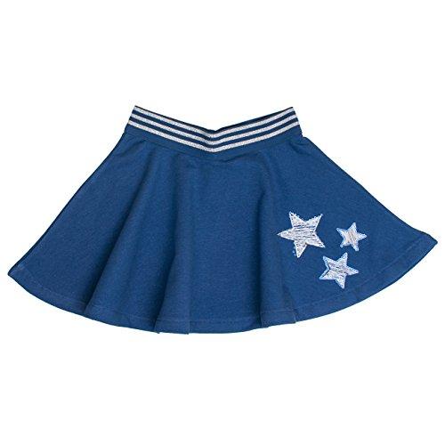 SALT AND PEPPER Mädchen Rock Skirt Lucky me, Blau (Indigo Blue Melange 460), 116
