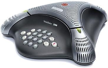 Polycom VoiceStation 300 Konferenztelefon, analog schwarz
