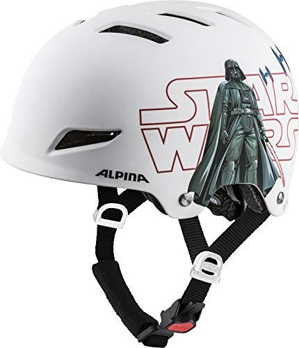 Alpina Jungen Park JR. Fahrradhelm, Star Wars-White, 51-55 cm