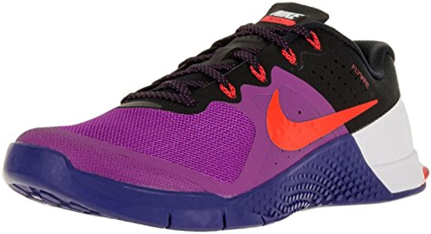 Nike Metcon 2 Cross Training Shoes, Hyper Violet/Concord/Black/Total Crimson, 47.5 D(M) EU/12.5 D(M) UK