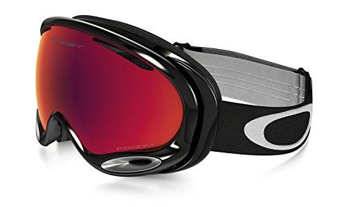 Oakley Unisex-Erwachsene A-Frame 2.0 704449 0 Sportbrille, Schwarz (Jet Black/Prizmtorchiridium), 99