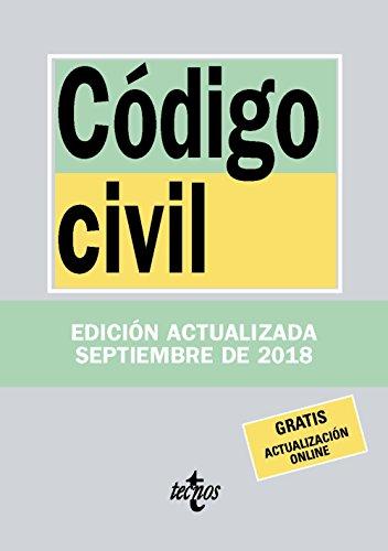Código Civil (Derecho - Biblioteca De Textos Legales) por Editorial Tecnos