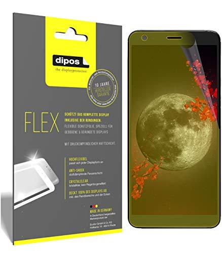 dipos I 3X Schutzfolie 100% passend für Sharp B10 Folie (Vollständige Displayabdeckung) Displayschutzfolie