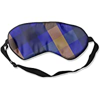 Blue Lattice Love Sleep Eyes Masks - Comfortable Sleeping Mask Eye Cover For Travelling Night Noon Nap Mediation... preisvergleich bei billige-tabletten.eu