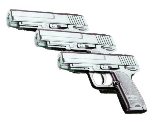 Black P40-6 Softair Pistole 3 Stück Set