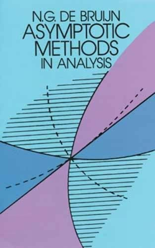 Asymptotic Methods in Analysis (Dover Books on Mathematics)